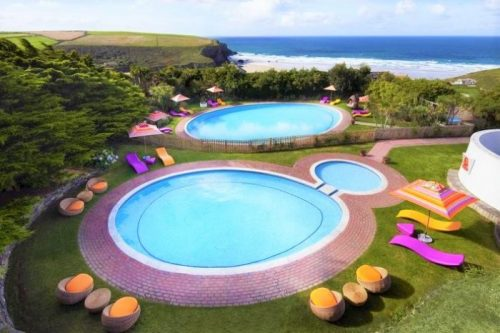 Bedruthan family hotel in UK