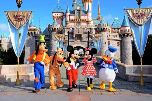Disneyland family vacation in USA