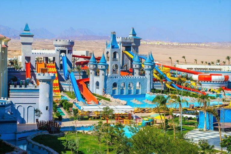 Serenity Fun City family resort in Egypt