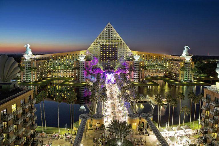 Walt Disney World Dolphin family resort in USA