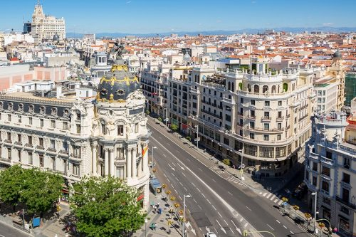 family holidays in Madrid